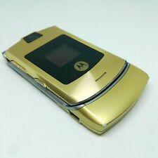 Motorola Razr V3i Dolce Gabbana - Gold (Unlocked) Mobile Phone Without Battery