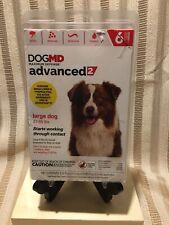 Dogmd advanced2 - Large Dog Flea Treatment - 6 Month - 21-55 lbs. New $45