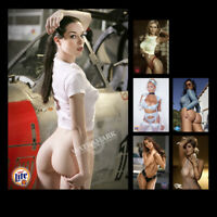 "A•1694 # Mini Poster Sweet Sexy Cute Girl Glossy Photos 4""x6"" Bar Home Decorate"