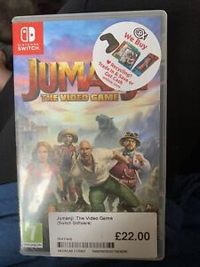 Jumanji The video game - Nintendo switch. Box and Game. FREE POSTAGE