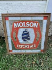molson canadian beer sign Export Ale