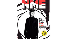 NEW MUSICAL EXPRESS NME 23 OCTOBER 2015 SAM SMITH James Bond 007 Spectre n.m.e.