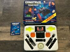 Vintage Fisher Price Construx 6060 Light Pack Accessory Set With Original Box