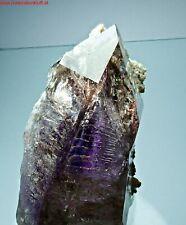 Top big AMETHYST Quartz crystal Hematite GOBOBOSEB Brandberg Namibia Afrika ze