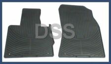 New Genuine BMW Front Set Rubber Floor Mats OEM BMW BLACK X5 (E53) All Weather
