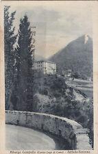 CARTOLINA LOMBARDIA LECCO- PERLEDO-VARENNA, ALBERGO CAMPALLO -V1933