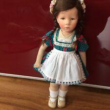 Hübsches Kleid für Käthe Kruse Puppe  Deutsches Kind 35 cm oder Schildkröt