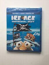Ice Age: Continental Drift Blu-ray+DVD+Digital HD Brand NEW!