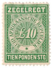 (I.B) Transvaal Revenue : Duty Stamp £10