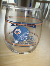 Vintage Chicago Bears Shell Oil Gas 70's Nfl Football High Ball Glass