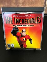 Disney Pixar~ The Incredibles~ PC CD-ROM Print Studio