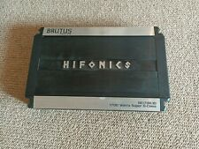 Brutus Hifonics elite series 1700W Monoblock Super Class-D Car Amplifier