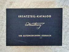 Ersatzteilkatalog Typ Wartburg, VEB Automobilwerk Eisenach, 1963-64