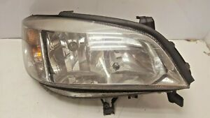 VAUXHALL ASTRA G DRIVERS SIDE CLEAR HEADLIGHT AND BULB HOLDERS 1998-2005 O/S