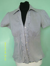 Women's Button Down Collar Blouse Fitted Casual Tops & Shirts