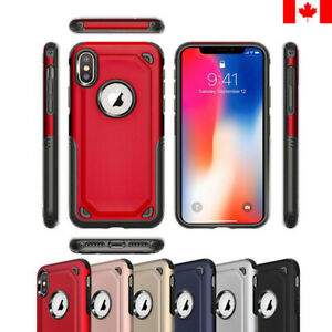 New Protective Hybrid Hard Case Shockproof Cover For iPhone 7 8 Plus X XS Max XR