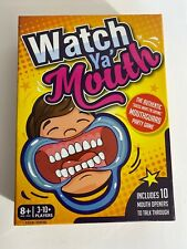 Watch Ya' Mouth The Authentic Mouthguard Party Card 3-10+ Players