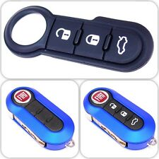 Fiat 500 Panda Abarth Punto White Remote Key Rubber Buttons Genuine 6000628384