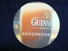 "COLLECTIBLE BEERMATS: GUINNESS~STOUT~""ANTICIPATION""~COASTER~BIERVILTJE"