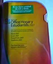 *NEW* Microsoft Office 2007 Home and Student ENGLISH/Spanish (Retail) (3-Users)