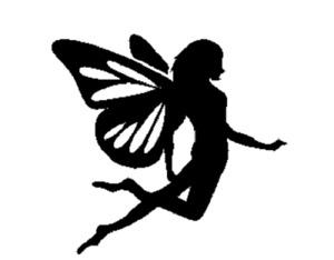 Tinkerbell Fairy / Fairytale Vinyl wallart sticker/ decal room decor / Fairytale