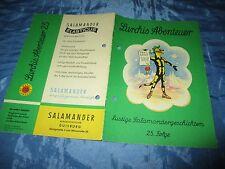 Lurchis Abenteuer  Folge 25  / 1962 , Salamander - Werbe - Comics / Kult , # 13