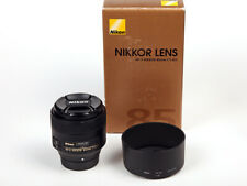 Nikon AF-S NIKKOR 85mm f1, 8 G