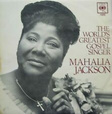 MAHALIA JACKSON - THE WORLD GREATEST GOSPEL SINGER  -  LP