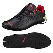 PUMA Leather Upper Casual Trainers with Laces for Boys