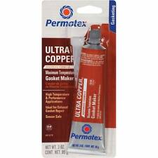 Permatex RTV Silicone Ultra copper Gasket maker 95g Sensor safe High Temp 81878