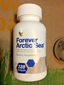 Forever Arctic Sea - Pack of 2 (240 Softgels) - 1 Bended Bottle