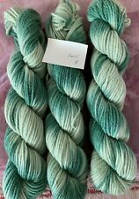 3 Skeins pather wool yarn for Preworked Needlepoint crafts or any other project