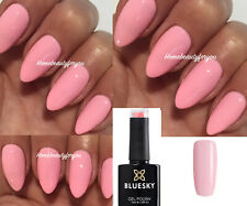 BLUESKY GEL POLISH PINK CUPID'S BOW BABY PINK NAIL UVLED SOAK OFF,ANY2=FILE