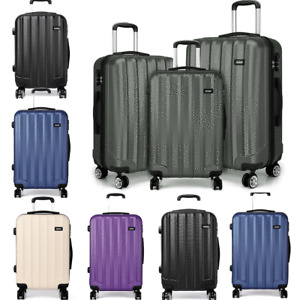 Hard Shell Cabin Suitcase Travel Luggage Trolley Case Lightweight Spinner Bag