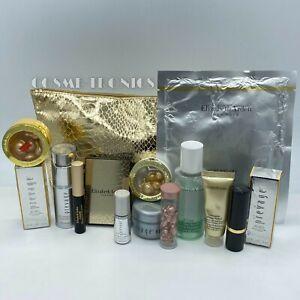 Elizabeth Arden 15 PC Prevage/Ceramide Skincare/Makeup Gift Set - W/ TRAVEL CASE