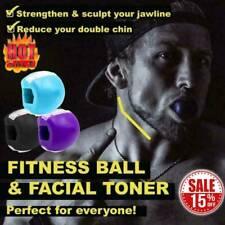 Jaw Exerciser Fitness Ball Neck Face Toning Jawzrsize Jaw Anti-Wrinkle