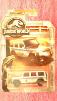 """Matchbox - 1-125 """"Jurassic World"""" - '14 Mercedes-Benz G550 - Silver & Blue"""