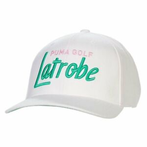 Puma Latrobe City Arnold Palmer Cap Bright White/Bright Green Adjustable