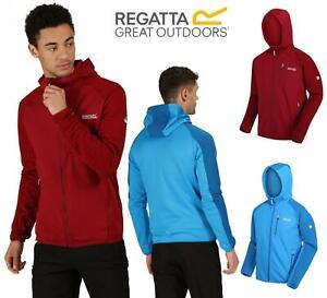 Regatta Woodford Tech Fleece Jacket  Warm Backed Extol Ribbed Full Zip Hooded