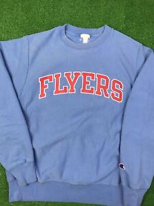 Dayton Flyers Champion Reverse Weave Crewneck Sweatshirt Sz S