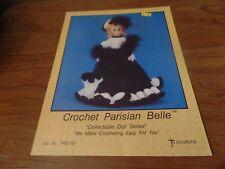 TD Creations Crochet Parisian Belle Doll Pattern #2451