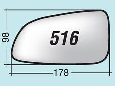 -sinistro ASFERICO Specchio retrovisore c//biadesivo OPEL Astra 2004 /> 2010