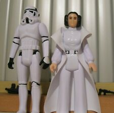 Disney Star Wars Retro Collection Princess Leia Stormtrooper loose new