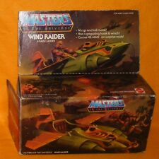VINTAGE 1981 MATTEL MOTU HE-MAN MASTERS OF THE UNIVERSE WIND RAIDER BOXED RARE
