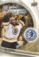 2011-12 Upper Deck National Hockey Card Day USA #16 Tim Thomas SP Boston Bruins