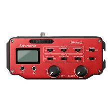 Saramonic Audio Mixer Preamplifier for DSLR&Mirrorless&Blackmagic Pocket Cameras