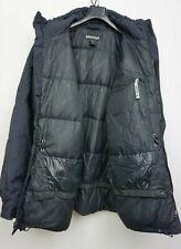 Men's Marmot 650 PIUME D'OCA CAPPOTTO PARKA taglia L giacca nera