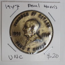 1947 Paul Harris founder of rotary Medal (3232689T31)