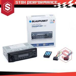 Blaupunkt Frankfurt 100 Single-DIN MP3 USB SDHC Car Stereo Headunit (No CD)-New