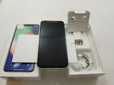Open Box Apple iPhone X A1865 Unlocked 64GB Clean IMEI -AT138